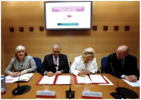 Convenio entre la consejer a de asuntos sociales de la for Convenio oficinas y despachos comunidad de madrid