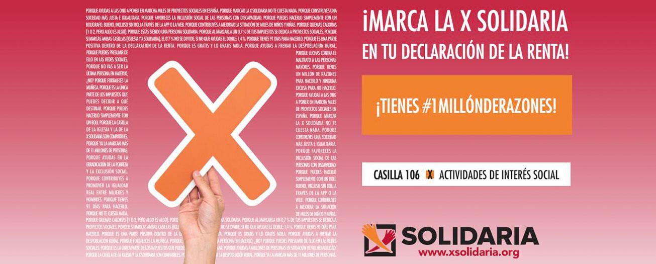 X Solidaria, Declaración de la Renta 2020